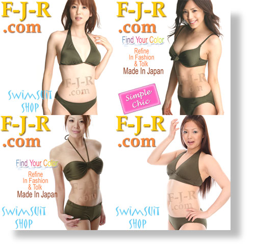 img-F-J-R Swimwear & Bikini of the Khaki Color